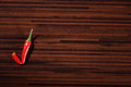Chili than ok sign on table Royalty Free Stock Images