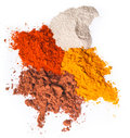 Chilli powder. Spice Mix on background Stock Photography