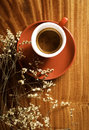 Chilling time coffee Royalty Free Stock Photo