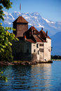 Chillon Castle Stock Image
