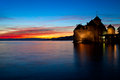 Chillon Castle Lake Geneva Switzerland. Stock Images