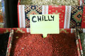 Chilly spice Stock Images