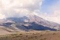 Chimborazo volcano south america ecuador Royalty Free Stock Photos