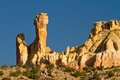 Chimney Rock, New Mexico rock formation Royalty Free Stock Photography
