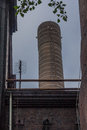 Chimney top piece of huge Stock Photography