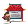China Asia Armor Warrior Border