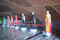 China asia beijing the national grand theater exhibition hall theatre clothing is meters high designed by french architect paul Royalty Free Stock Photos
