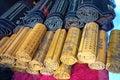 China bamboo slips Royalty Free Stock Photo