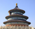 China beijing the temple of heaven literally altar is a medieval complex religious buildings situated in southeastern part Royalty Free Stock Photos