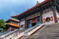 China buddhist temple the beautiful at thailand Stock Photo
