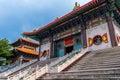 China buddhist temple the beautiful at thailand Stock Photo