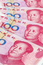 China Business yuan. Royalty Free Stock Photo