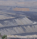 China coal mining site Royalty Free Stock Photos