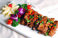China delicious food--fried pork ribs Stock Image