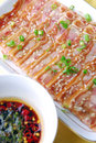 China delicious food-- pig ears,chili Royalty Free Stock Photo