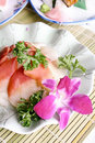 China delicious food-shellfish sashimi Stock Photo