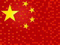 China flag Stock Image