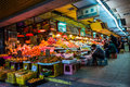 China: fruit market, Royalty Free Stock Photo