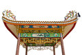 China hut on isolate Royalty Free Stock Photography