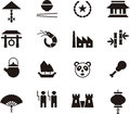 China icon set