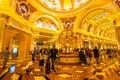 China, Macau - September 10 2018 - Beautiful luxury hotel resort Royalty Free Stock Photo