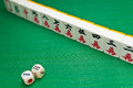China old game Mahjong Royalty Free Stock Photography