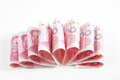 China one hundred  yuan Stock Photo