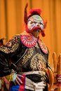 China opera clown Royalty Free Stock Photo