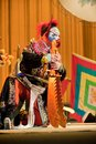 China opera clown Royalty Free Stock Images