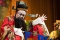 China opera man Angry Stock Photo