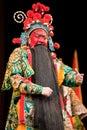 China opera man red face Stock Photo