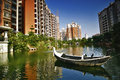 China real estate in guangdong of Royalty Free Stock Image