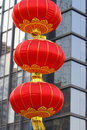 China red lanterns Royalty Free Stock Photography