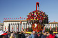 China's national day celebration Stock Images