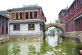 China Southern Water country Zhouzhuang Royalty Free Stock Photo