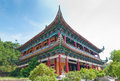China temple architecture foshan city of buddhist Stock Photos