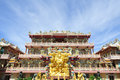 China temple in Chonburi Thailand Stock Photos