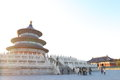 China temple of heaven the is a complex religious buildings situated in the southeastern part central beijing the complex was Royalty Free Stock Photo