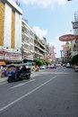 China Town in Bangkok Royalty Free Stock Photo