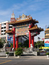 China town in bangkok thailand Royalty Free Stock Photos