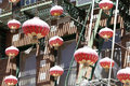 China Town lamps Stock Photos