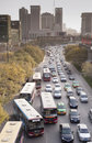 China: Traffic jam Stock Image