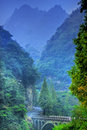 China Wudang Mountains Royalty Free Stock Photography