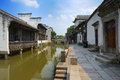 China wuzhen tongxiang city zhejiang province located in the northwest corner with six thousand years of history is a typical Stock Photos