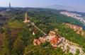 China Yunnan large Buddhist temple Royalty Free Stock Photo