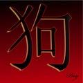 China Zodiak Dog Royalty Free Stock Photo