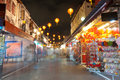 Chinatown de Singapour Photo stock