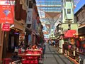 Chinatown food street in singapore Stock Photography
