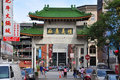 Chinatown Gateway in Boston, Massachusetts Royalty Free Stock Photo