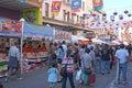 Chinatown jaarlijks autumn moon festival Stock Afbeelding